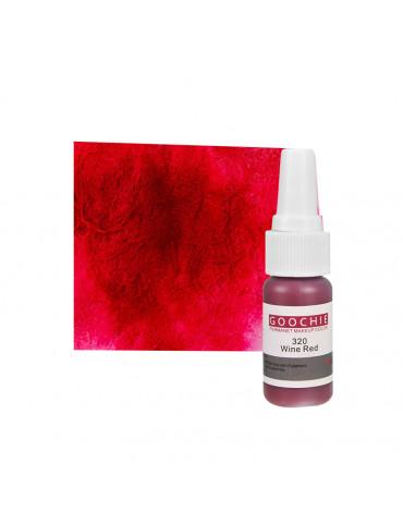Goochie sminktetováló pigment,  Wine Red, 320